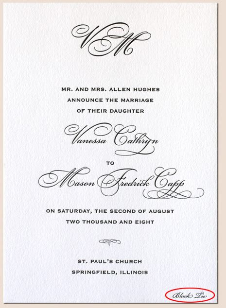 Wedding Invitations Dress Code by Invitations Tell The Dress Code Information In Your