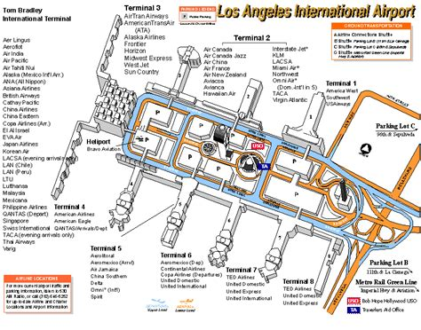 Map Of Los Angeles Airports by Lax Terminal Map Related Keywords Amp Suggestions Lax