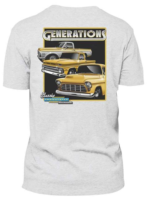 gmc truck apparel gm truck parts lifestyle products apparel t shirts