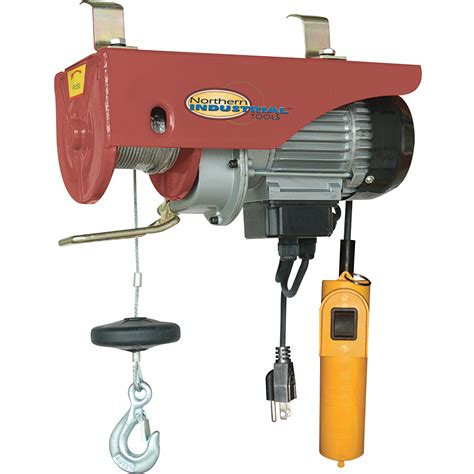 boat winch northern tool northern industrial tools electric hoist 1100 lb