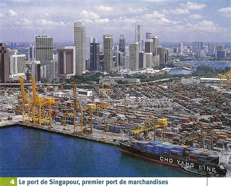 il port read le port de singapour premier port de marchandises