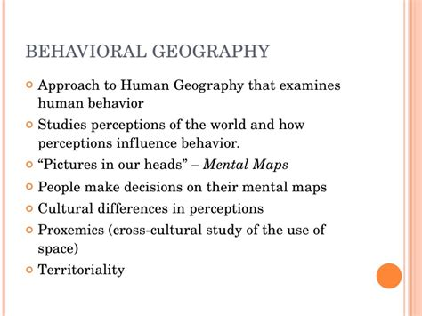 Cultural Landscape Definition Geography Chapter 6 Cultural Geography