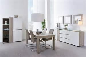 salle 224 manger contemporaine ch 234 ne gris blanc laqu 233
