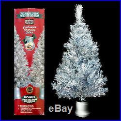 fibre optic christmas tree silver 09 december 2017 silver tree