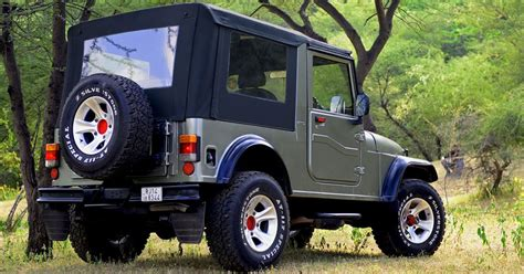 thar jeep modified mahindra thar jeep awesome look mahindra