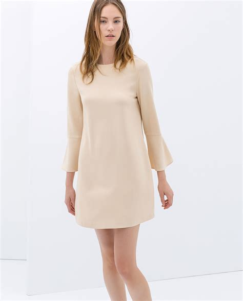 bell sleeve sleeve dress zara bell sleeve dress the new sleeve for is