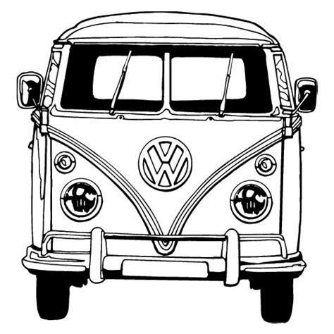 volkswagen van clipart vw bus tekening google zoeken transzfer mint 225 k
