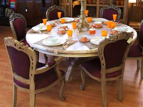 tavolo tondo bianco tavolo tondo akab bianco mobili in rattan