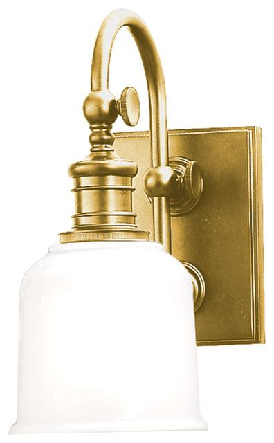 Traditional Vanity Lights Keswick 1 Light Bathroom Vanity Lights In Aged Brass Traditional Bathroom Vanity Lighting