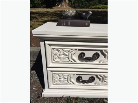 chalk paint nanaimo white chalk painted stands nightstand south