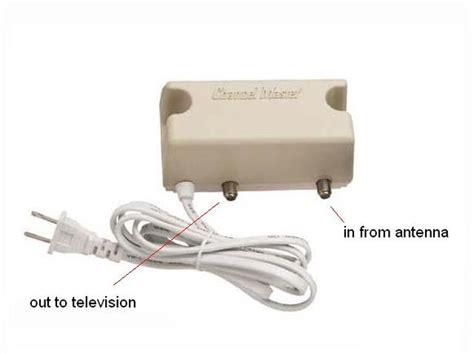 install  tv antenna booster techwallacom