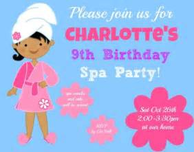 great 9 year old s birthday party idea a spa
