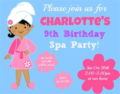 birthday themes for nine year olds great 9 year old girl s birthday party idea a spa