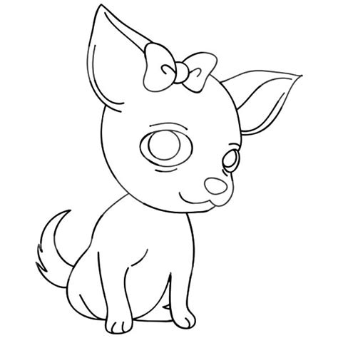 chiwawa puppies coloring pages chihuahua pages coloring pages