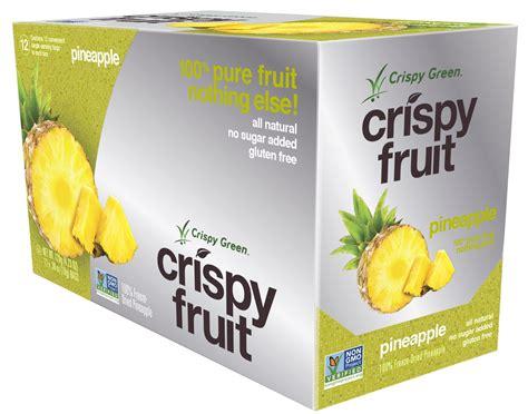 Crispy Green Freeze Dried Fruit Crispy Green Freeze Dried Fruits Non Gmo Gluten Free No