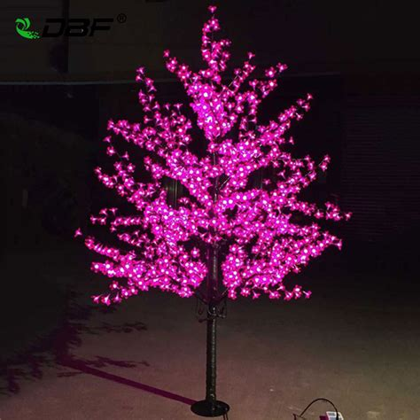 blossom lights luxury handmade artificial led cherry blossom tree light new year wedding