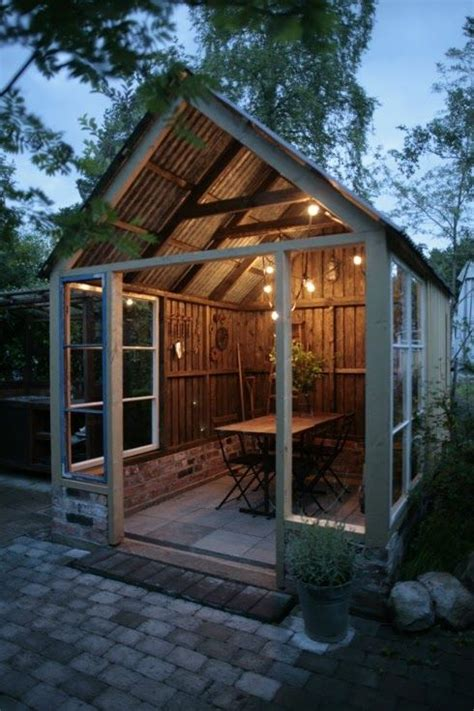 cool backyard sheds 25 best ideas about outdoor dining on pinterest veranda