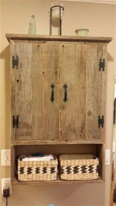 rustic over the toilet cabinet pin by danielle ruht on cabin cozy pinterest