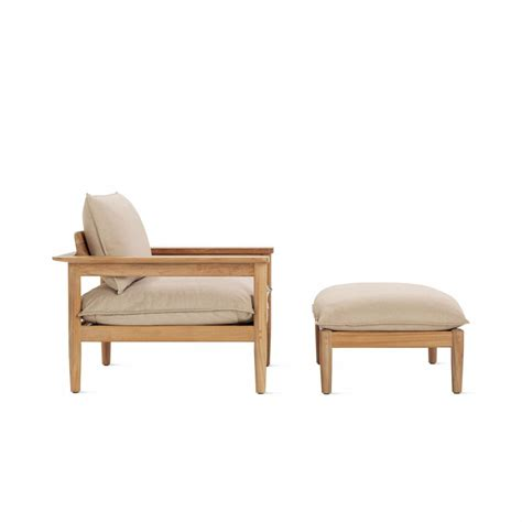 club chair and ottoman terassi lounge chair and ottoman by studio tolvanen for