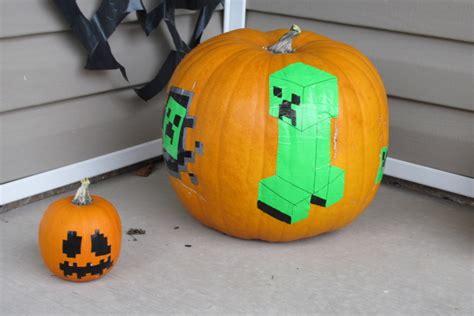 When Was Minecraft Made duct tape minecraft pumpkins diy