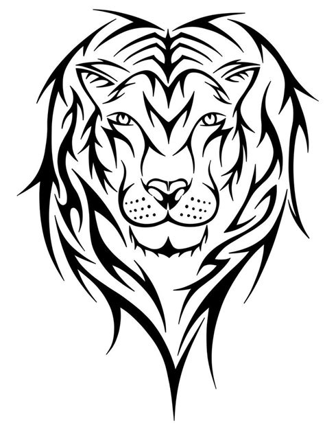 tribal lion head tattoos tattoos designs ideas and meaning tattoos for you