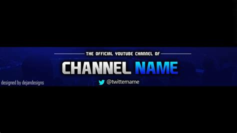 templates for youtube youtube banner template psd e commercewordpress