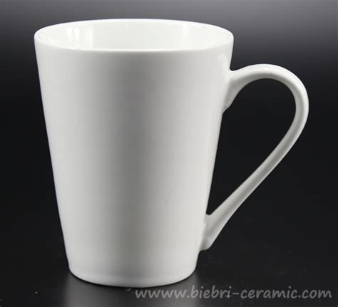 tea and coffee mugs plain white custom design tea coffee ceramic porcelain
