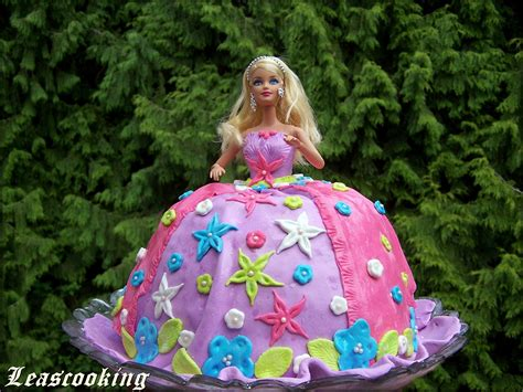 Decorate Cake At Home by Lea S Cooking Princess Barbi Cake