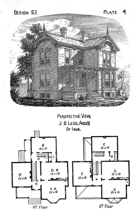 house plans historic houses house clip free vintage house plans mexzhouse