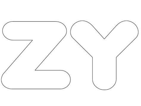25 melhores ideias de molde de letras grandes no