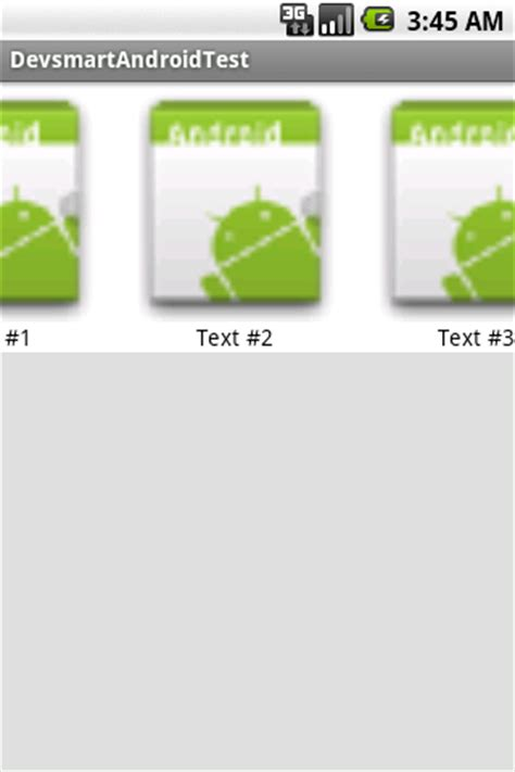 android horizontal listview android horizontal listview 水平滑动的 listview 组件 open 开发经验库