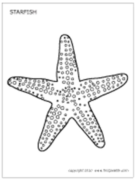 starfish template to print starfish outline to colour search results calendar 2015