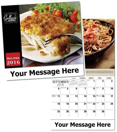 Inexpensive Personalized Calendars Custom Food Recipes Calendars Personalized In Bulk