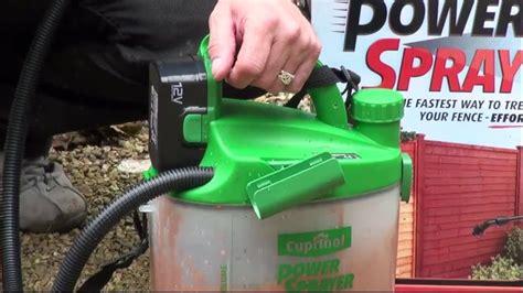 cuprinol power sprayer replacement parts reviewmotorsco