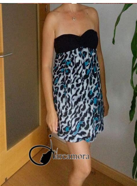 trucos para reciclar ropa transformar un vestido palabra de honor en una falda