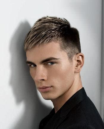 male hairstyles highlights brown hair blonde highlights male