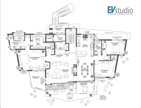mountain homes floor plans snyder mountain road mountain modern home evstudio