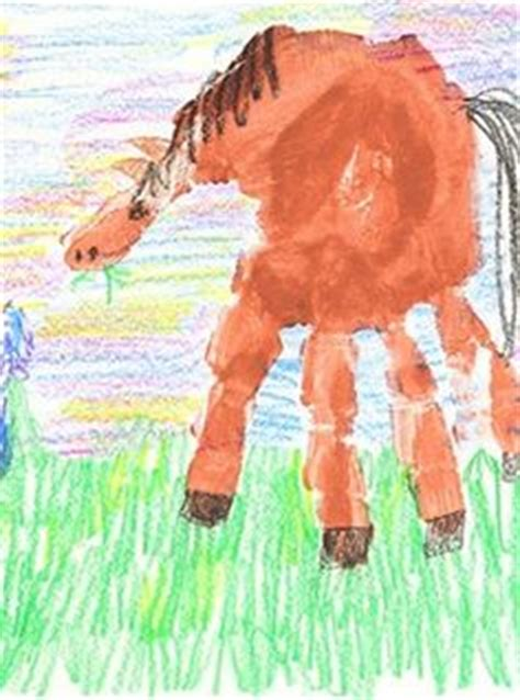 wild west art lessons pinterest handprint horse classroom art projects pinterest