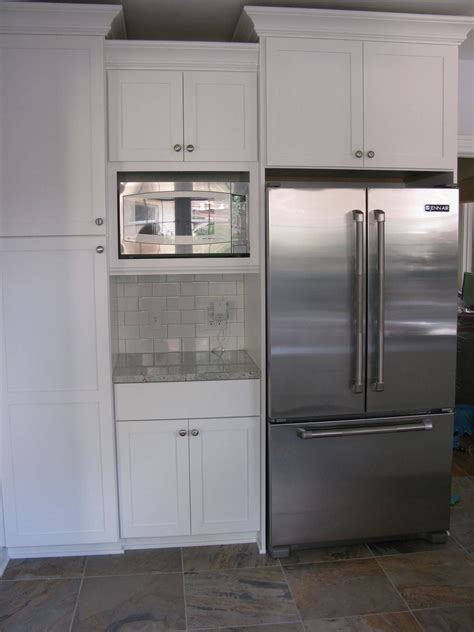 kitchen cabinet microwave built in microwave in upper cabinet kitchen wall removal remodel