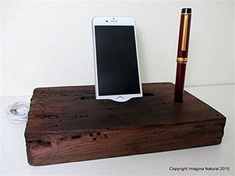 Stand Iphone Woods Vintage reclaimed tsunami wood phone dock stand wooden phone station r imagina