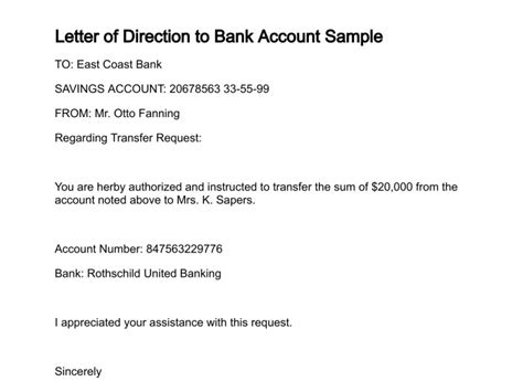 application letter joint bank account sle letter to joint bank account cover letter