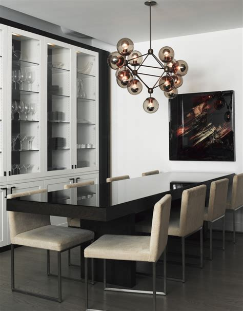 the modern dining room 10 modern globe chandeliers and pendant lights