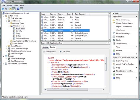 event viewer open and use in windows 7 windows 7 help working with vista s new event viewer petri