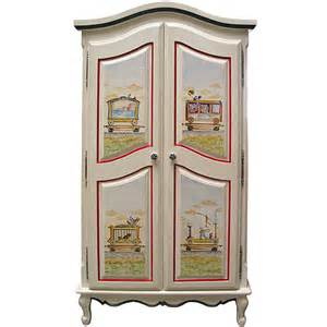 Baby Nursery Armoire by Vintage Circus Armoire And Luxury Baby Cribs In Baby