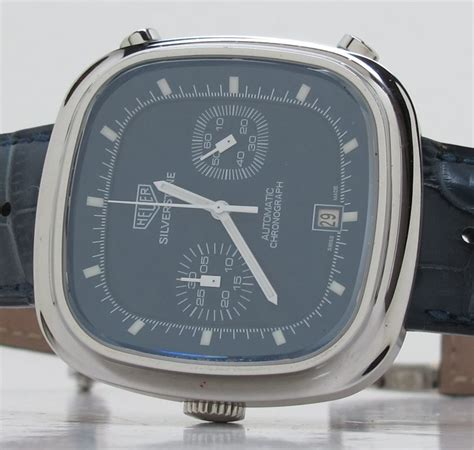 Tag Heuer Silverstone Calibre 11 Blue tag heuer ref 2110 steel calibre 11 auto limited