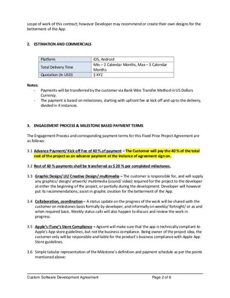 App Requirements Template by Software Requirements Document Template Template Business