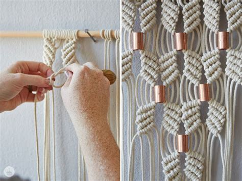 How To Macrame Knots - best 25 macrame knots ideas on macrame