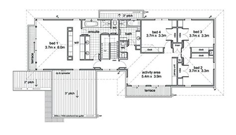 10 bond floor plans modern style house plan 5 beds 2 5 baths 3882 sq ft plan