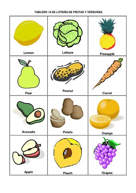 imagenes vegetales en ingles verduras con nombres en ingles mas im 225 genes educanimando
