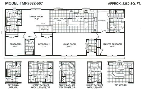 schult floor plans schult timberland 7632 507 excelsior homes west inc